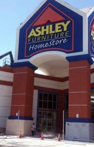 Ashley Furniture Stucco work