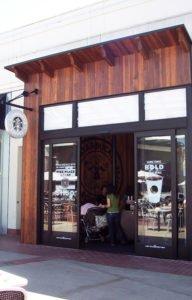 Starbucks Fashion Valley Woodwork